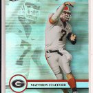 MATTHEW STAFFORD GEORGIA 2009 PRESSPASS CLASS OF 2009