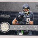 MATT HASSELBECK SEAHAWKS 2008 UD GAME JERSEY