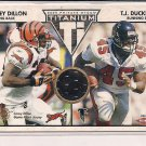 COREY DILLON BENGALS 2002 PRIVATE STOCK TITANIUM JERSEY
