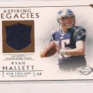 RYAN MALLETT PATRIOTS 2011 LEGENDS ASPIRING LEGACIES JERSEY