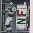 KELLEN CLEMENS JETS 2006 PLAYOFF ABSOLUTE JERSEY-BALL RC