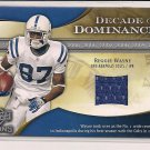 REGGIE WAYNE COLTS 2009 ICONS JERSEY #'D 115/199!