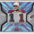 MATT LEINART CARDINALS 2007 SPX WINNING MATERIALS JERSEY