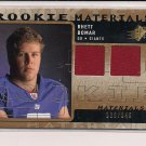 RHETT BOMAR GIANTS 2009 SPX ROOKIE MATERIALS DUAL JERSEY
