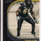 AARON CURRY SEAHAWKS 2009 PRESSPASS RC