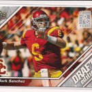 MARK SANCHEZ TROJANS 2009 UD DRAFT EDITION RC