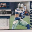 JASON WITTEN COWBOYS 2011 PANINI THREADS GAMEDAY JERSEY #'d 110/299!