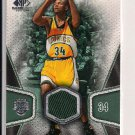 RAY ALLEN SONICS 2007-08 SP GAME USED JERSEY