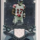 PLAXICO BURRESS 2007 BOWMAN STERLING JERSEY CARD
