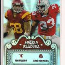 REY MAUALUGA/JAMES LAURINAITIS 2009 PRESSPASS DOUBLE FEATURE