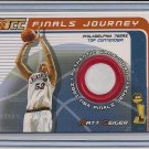 MATT GEIGER 76ERS 2001-02 TOPPS TCC FINALS JERSEY