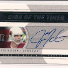 JOSH MCCOWN CARDINALS 2004 SP SIGN OF THE TIMES AUTO