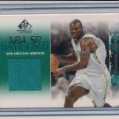 JAMAAL MASHBURN HORNETS 2003-04 SP GAME USED JERSEY