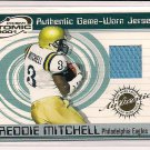 FREDDIE MITCHELL UCLA  2001 PRISM ATOMIC GAME-WORN JERSEY