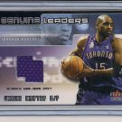 VINCE CARTER RAPORTS 2002-03 FLEER GENUINE LEADERS JERSEY