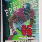JOEY PORTER STEELERS 2005 TOPPS CHROME PRO BOWL PREMIUMS JERSEY