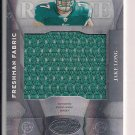 JAKE LONG DOLPHINS 2008 LEAF CERTIFIED MATERIALS RC JERSEY
