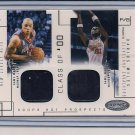 MARTIN/MILES 2002-03 HOOPS HOT PROSPECTS DUAL SWATCH