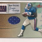 RON DAYNE GIANTS 2000 FLEER GENIUNE COVERAGE JERSEY