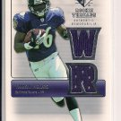 YAMON FIGURS RAVENS 2007 SPX ROOKIE THREADS JERSEY