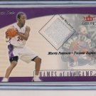 MORRIS PETERSON RAPTORS 2001-02 FLEER GENUINE JERSEY