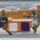 FRANCIS/DAVIS 2002-03 FLAIR COURT KINGS DUAL SWATCH
