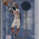 DARIUS MILES CLIPPER 2001-02 FLEER MAXIMUM POWER WARM UP