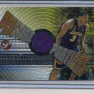 DEVEAN GEORGE LAKERS 2002-03 TOPPS PRISTINE PORTIONS JERSEY
