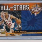 ALLAN HOUSTON KNICKS 2001 RESERVE ALL-STAR WARM UP
