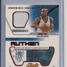 GRANT HILL MAGIC 2002-03 FLEER AUTHENTIX JERSEY
