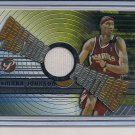 DERMARR JOHNSON HAWKS 2002-03 TOPPS PRISTINE PORTIONS JERSEY