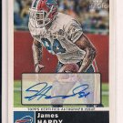 JAMES HARDY BILLS 2010 TOPPS MAGIC CERTIFIED AUTOGRAPH