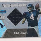 DAVE RAGONE TEXANS 2003 BOWMANS BEST RC JERSEY