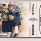 KEVIN O'CONNELL PATRIOTS 2009 PRESTIGE ROOKIE REVIEW JERSEY