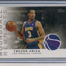 TREVOR ARIZA LAKERS 2009-10 TOPPS ROUNDBALL JERSEY