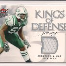 JONATHAN VILMA 2006 FLEER ULTRA KINGS OF DEFENSE JERSEY