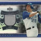 MIKE SWEENEY ROYALS 2007 UPPER DECK GAME MATERIALS