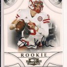 SAM KELLER NEBRASKA 2008 THREAD ROOKIE AUTO