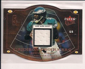 DONOVAN MCNABB EAGLES 2004 FLEER ULTRA JERSEY