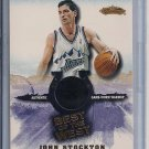 JOHN STOCKTON JAZZ 2001-02 FLEER BEST OF THE WEST WARMUP