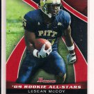 LESEAN MCCOY EAGLES 2009 BOWMAN ROOKIE ALL-STARS