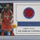 LAMAR ODOM 2002-03 FLEER PREMIUM CUT ABOVE JERSEY