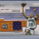 MIKE BIBBY KINGS 2002-03 FLAIR COURT KINGS JERSEY
