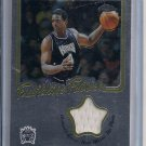 CHRIS WEBBER KINGS 2002-03 TOPPS CHROME FRANCHISE FABRICS