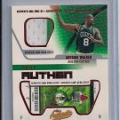 ANTOINE WALKER CELTICS 2002-03 FLEER AUTHENTIX JERSEY CARD