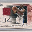 MICHAEL OLOWOKANDI CLIPPERS 2001 UD PROS & PROSPECTS JERSEY