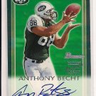 ANTHONY BECHT JETS 2000 BOWMAN CERTIFIED AUTO