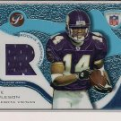 NATE BURLESON VIKINGS 2003 TOPPS PRISTINE ROOKIE JERSEY