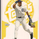 TONY CLARK TIGERS 2005 TOPPS ROOKIE CUP YELLOW #'D 232/299!