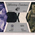 WEBBER/TURKOGLU 2003-04 SPX WINNING COMBOS DUAL WARM-UP